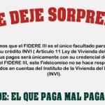 Programas de Apoyo FIDERE III